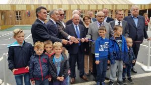 inauguration ecole vitot sivos assistant maitrise ouvrage eure normandie
